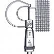 Pomiar średnicy drutu przy użyciu śruby mikrometrycznej